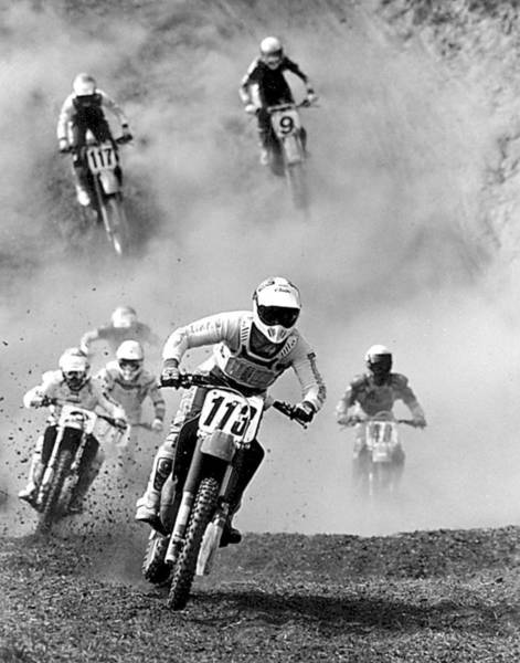 Photograph - Motocross Race by Steve Somerville