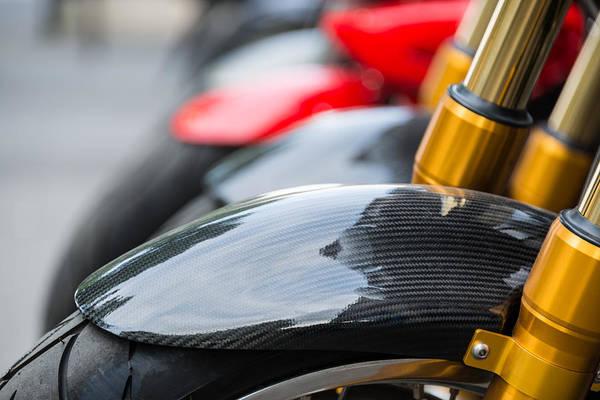 Carbon Fiber Photograph - Motorbikes by Dutourdumonde Photography