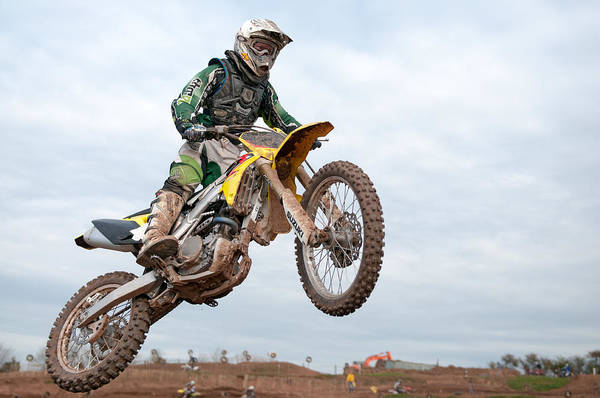 Dirtbike Photograph - Motorcross by Roy Pedersen
