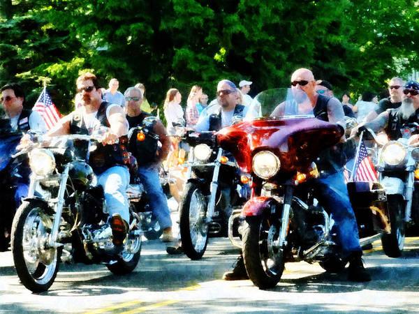Photograph - Motorcycle Club by Susan Savad