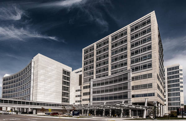 Photograph - Mott Children's Hospital by James Howe