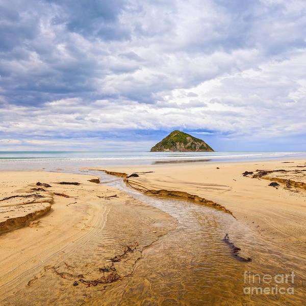 Wall Art - Photograph - Moturoi Island Anaura Bay Gisborne New Zealand by Colin and Linda McKie