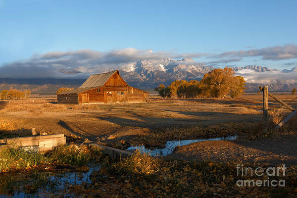 Photograph - Moultan Barn Morning by Beve Brown-Clark Photography