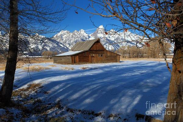 Photograph - Moulton Barn by Adam Jewell