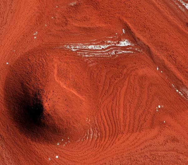 Deposits Wall Art - Photograph - Mound On Mars by Nasa/jpl/university Of Arizona/science Photo Library