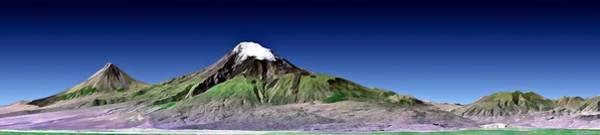 Photograph - Mount Ararat Turkey by Nasa Jpl Nima