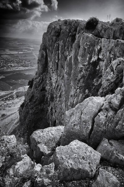 Base Jumping Photograph - Mount Arbel by Stephen Stookey