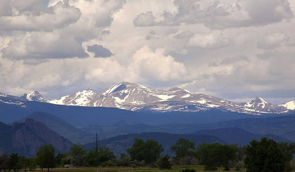 Photograph - Mount Audubon Colorado by Marilyn Hunt
