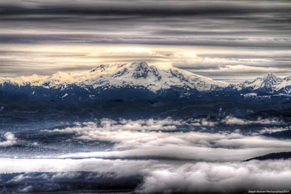 Photograph - Mount Baker by Joseph Noonan
