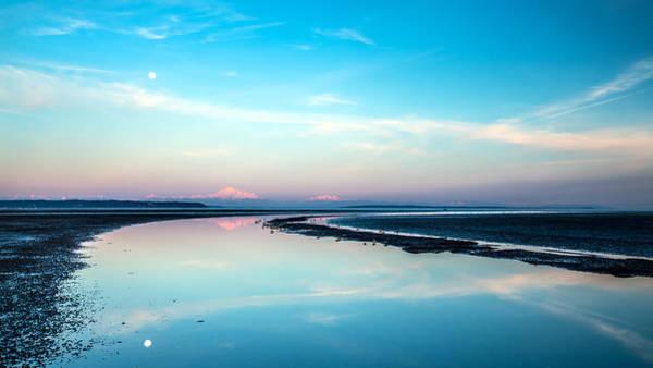Photograph - Mount Baker Landscape Reflection by Pierre Leclerc Photography