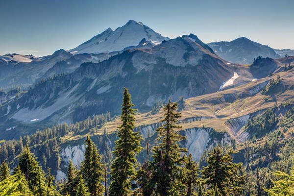Photograph - Mount Baker Summer Hike by Pierre Leclerc Photography