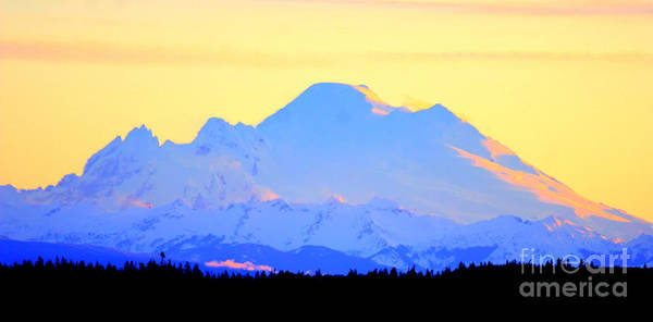 Photograph - Mount Baker Sunrise by Tap On Photo