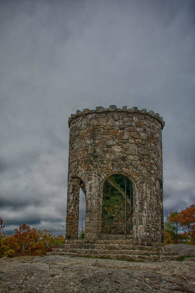 Photograph - Mount Battie Tower 7k02542 by Guy Whiteley