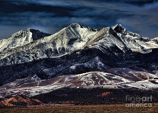 Photograph - Mount Blanca by Jon Burch Photography