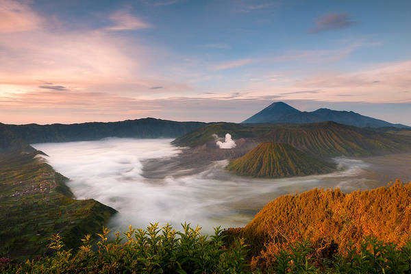 Photograph - Mount Bromo Sunrise by Andrew Kumler