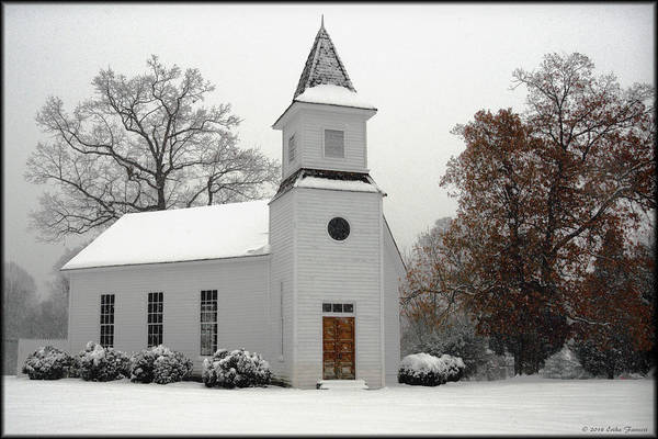 Photograph - Mount Calvary Methodist by Erika Fawcett