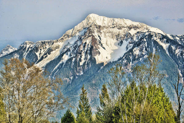 Photograph - Mount Cheam In The Upper Fraser Valley Spring by Lawrence Christopher