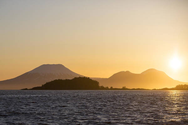 Wall Art - Photograph - Mount Edgecome Sunset by Tim Grams