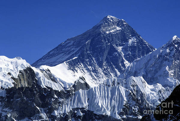 Gokyo Photograph - Mount Everest - Khumbu District Nepal by Craig Lovell