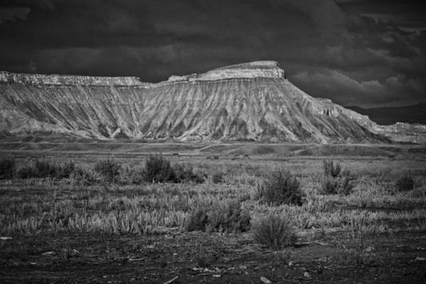 Grand Mesa Photograph - Mount Garfield by Medicine Tree Studios