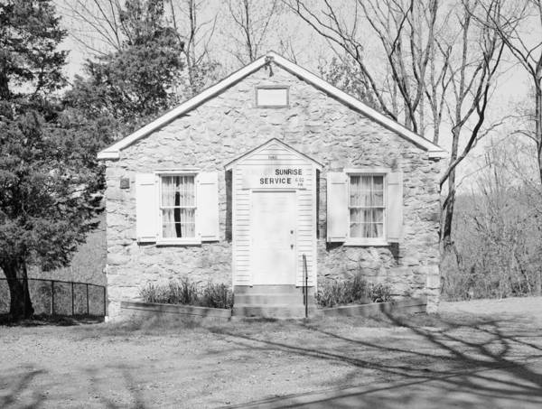 Photograph - Mount Gilead Ame Church by Granger