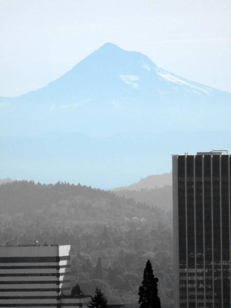 Mount Hood Photograph - Mount Hood In Fall by David Bearden