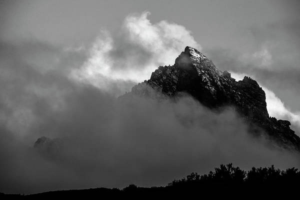 Parks And Recreation Photograph - Mount Kenya Rises From The Clouds by Jake Norton