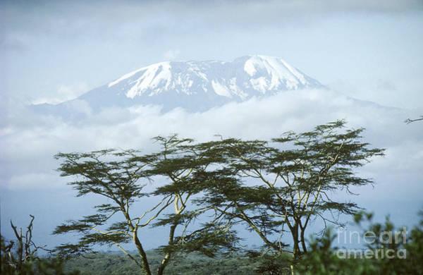 Landforms Photograph - Mount Kilimanjaro, Tanzania by Gregory G. Dimijian, M.D.