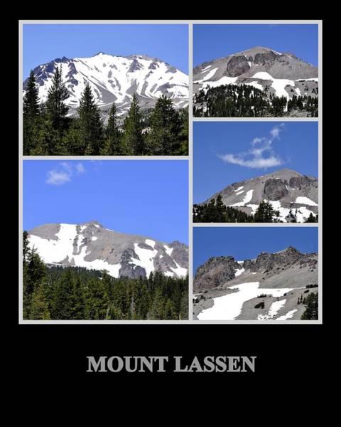Photograph - Mount Lassen by AJ  Schibig