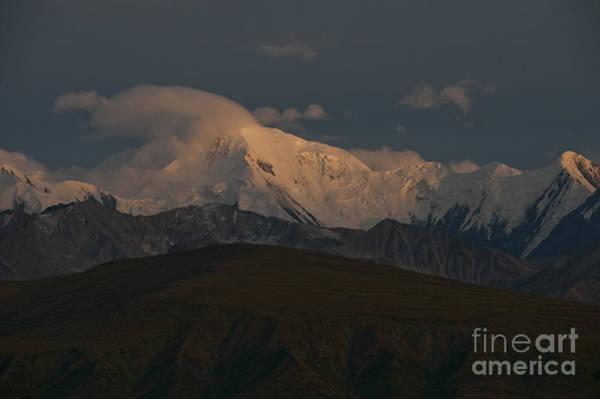 Alpen Glow Wall Art - Photograph - Mount Mather by Ron & Nancy Sanford