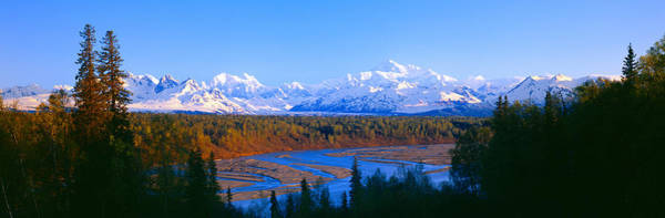 Escarpment Photograph - Mount Mckinley, Alaska by Panoramic Images
