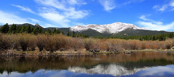 Photograph - Mount Meeker - Panorama by Shane Bechler