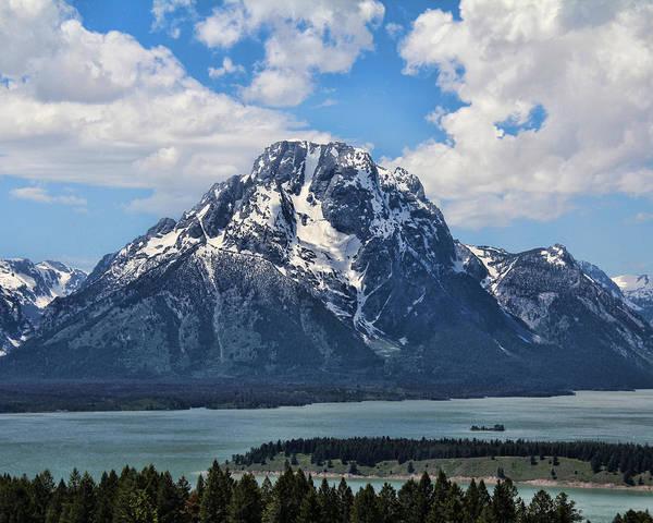 Photograph - Mount Moran by Jemmy Archer