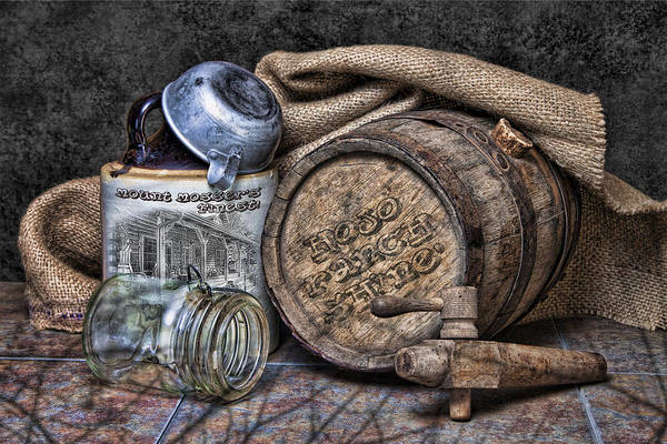 Whiskey Wall Art - Photograph - Mount Mossers Finest by Tom Mc Nemar