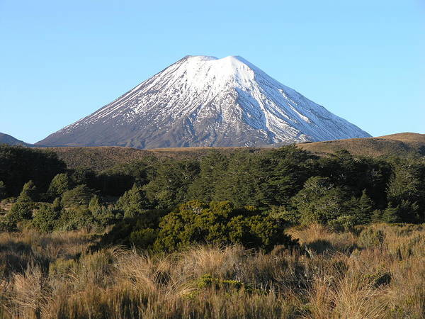 Photograph - Mount Ngauruhoe by Olaf Christian