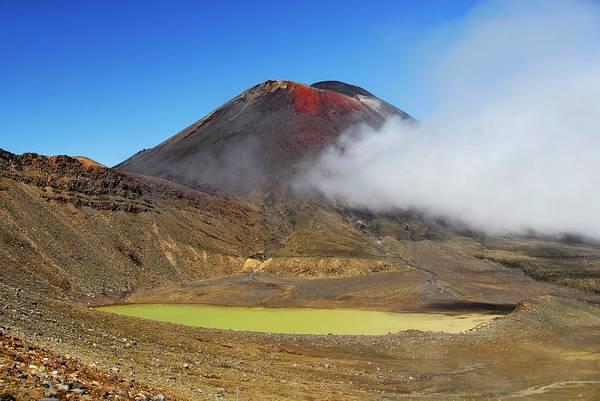 Active Volcano Photograph - Mount Ngauruhoe by Cordelia Molloy/science Photo Library