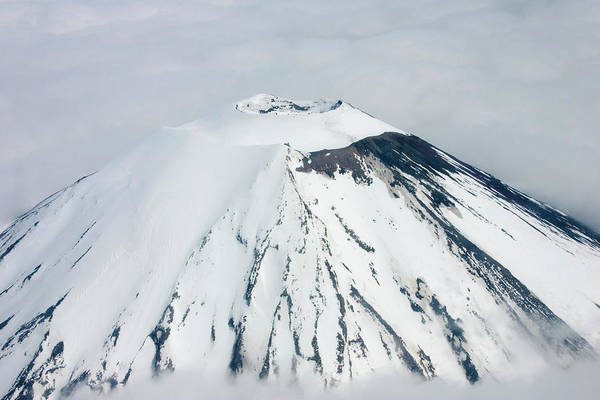 Vent Photograph - Mount Ngauruhoe by David Taylor/science Photo Library