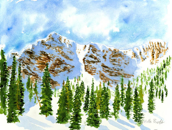 Painting - Mount Ogden by Walt Brodis