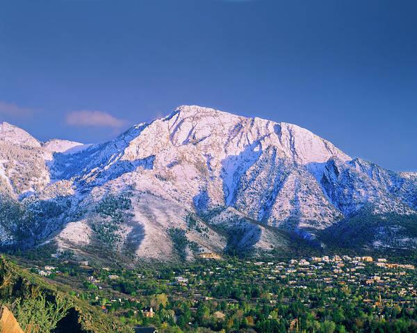 Mount Olympus Mountain, Mount Olympus Art Print