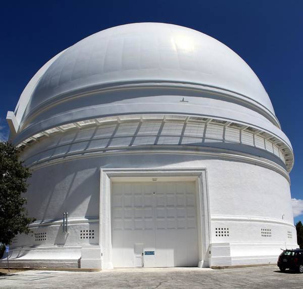 Porter Photograph - Mount Palomar Observatory by Peter Bassett/science Photo Library