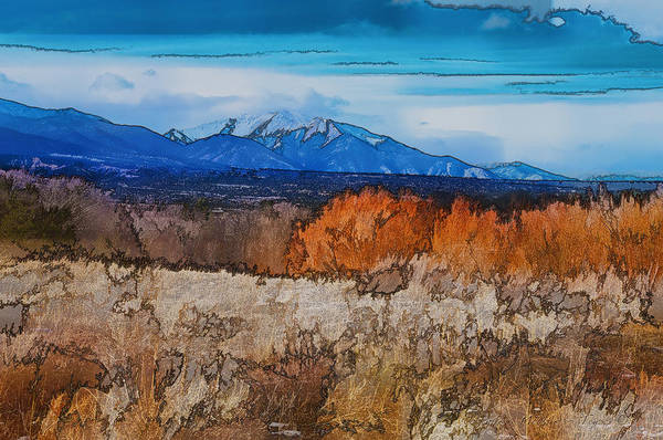Photograph - Mount Princeton by Charles Muhle