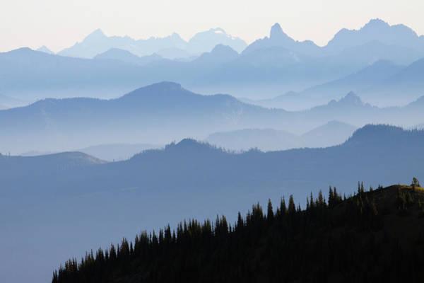 Ken Photograph - Mount Rainier National Park, Cascade by Ken Archer