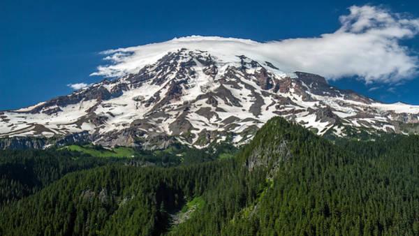 Photograph - Mount Rainier Summertime by Pierre Leclerc Photography