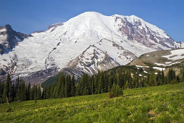 Photograph - Mount Rainier Washington by Pierre Leclerc Photography