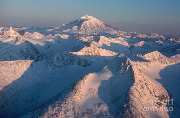Mount Redoubt Photograph - Mount Redoubt by William Bacon