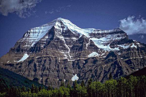Photograph - Mount Robson by Richard Farrington