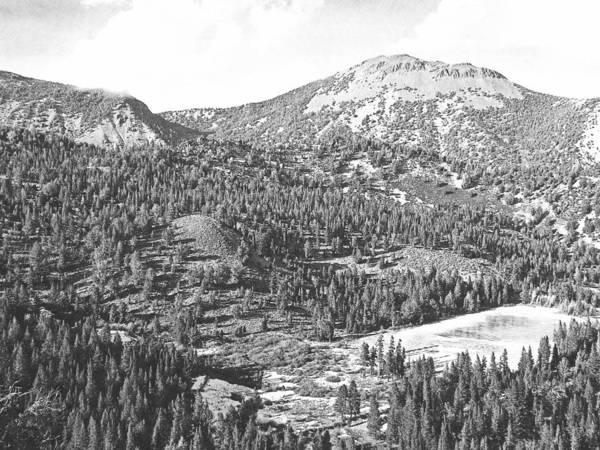 Photograph - Mount Rose Sierra Nevada by Frank Wilson