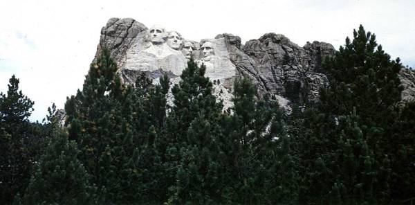 Photograph - Mount Rushmore by John Mathews