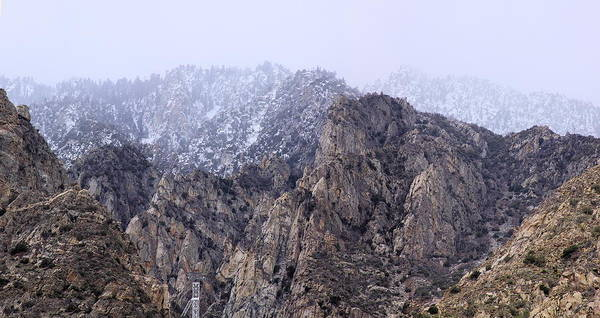 Aerial Tramway Wall Art - Photograph - Mount San Jacinto by Viktor Savchenko