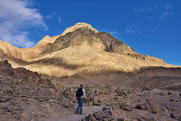Photograph - Mount Sinai by Ivan Slosar